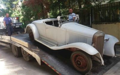 Car Transport – Chevrolet 1930