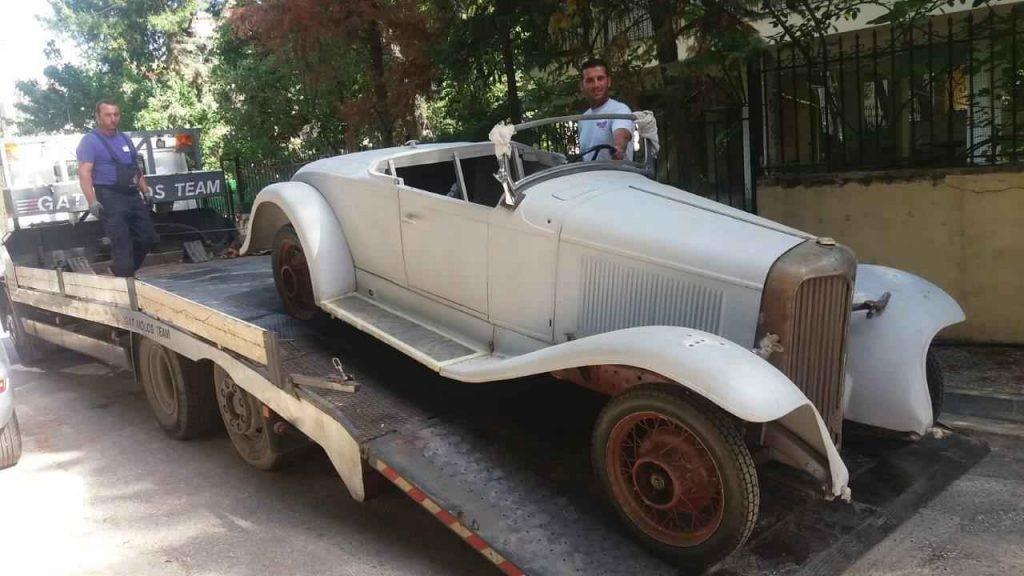 Μεταφορά Αυτοκινήτου Chevrolet του 1930!